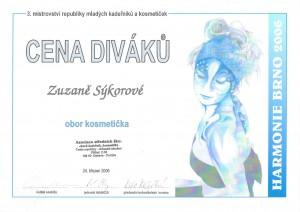 1st place Trend vision Awards Czech republic 2006